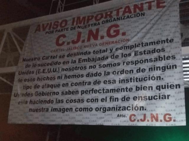 Cartel Jalisco Banner
