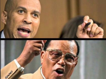 Booker Declines to Say He Would Rule Out Meeting with Louis Farrakhan