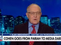 Dershowitz: Cohen Sentence Reduction from Redemption Campaign 'Unlikely to Happen'
