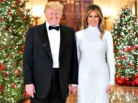 Donald and Melania Trump Christmas