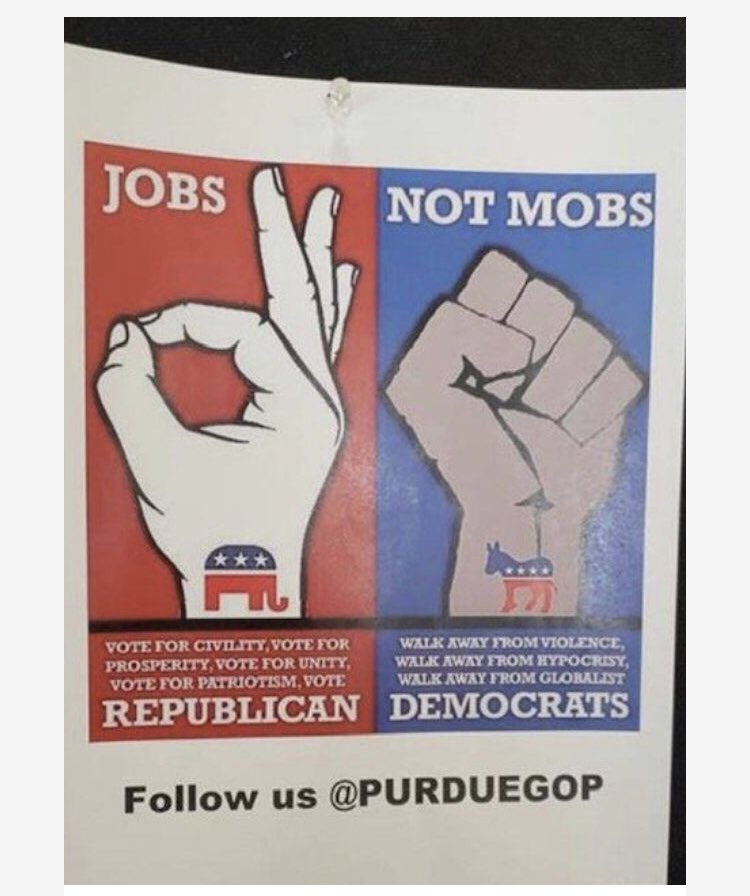 Purdue GOP flyer