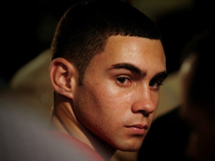 Elian Gonzalez attends an official event with Cuba's President Raul Castro, unseen, in Havana, Wednesday, June 30, 2010. Castro and a now 16-year-old Gonzalez attended an official event marking the 10-year anniversary of the time when the former cast away child whose mother died at sea became the center of …