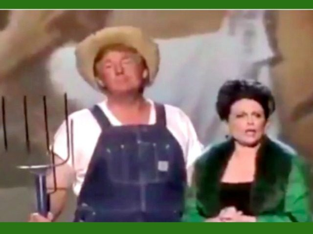 Trump reminisces about 'Green Acres,' signs farm bill