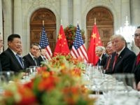 Trump Argentina G20 Summit President Donald Trump with China's President Xi Jinping during their bilateral meeting at the G20 Summit, Saturday, Dec. 1, 2018 in Buenos Aires, Argentina.