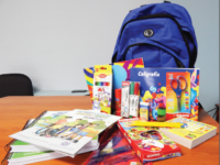 This is a school supplies kit, backpack, and coloring books that are provided to migrants after being deported from the U.S. American taxpayers have funded $27 million worth of school supplies, toys, and clothing for deported migrants since 2014. (GAO)