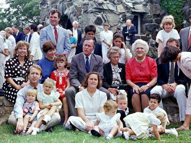 George HW Bush Family Portrait