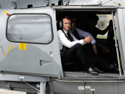 Macron Had Helicopter on Standby to Escape Presidential Palace During Protests
