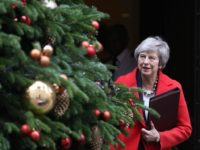 Britain's Prime Minister Theresa May leaves 10 Downing Street in London on December 4, 2018. - British MPs on Tuesday begin debating a highly contentious Brexit deal amid a row over the government's refusal to publish its legal advice, as a top EU court lawyer said Britain can unilaterally change …