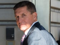 Former US National Security Advisor General Michael Flynn arrives for his sentencing hearing at US District Court in Washington, DC on December 18, 2018. (Photo by SAUL LOEB / AFP) (Photo credit should read SAUL LOEB/AFP/Getty Images)