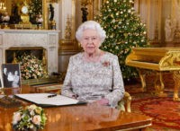 A picture released on December 24, 2018 shows Britain's Queen Elizabeth II posing for a photograph after she recorded her annual Christmas Day message, in the White Drawing Room of Buckingham Palace in central London. (Photo by John Stillwell / POOL / AFP) (Photo credit should read JOHN STILLWELL/AFP/Getty Images)