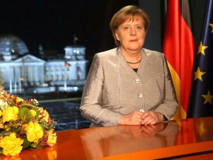 Germany's Merkel Calls For 'Management of Migration' in Globalist New Year's Address