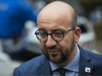 BRUSSELS, BELGIUM - OCTOBER 21: Belgian Prime Minister Charles Michel arrives at the Council of the European Union on the second day of a two day summit on October 21, 2016 in Brussels, Belgium. Theresa May is attending her first EU Council meeting as the British Prime Minister. The government's …