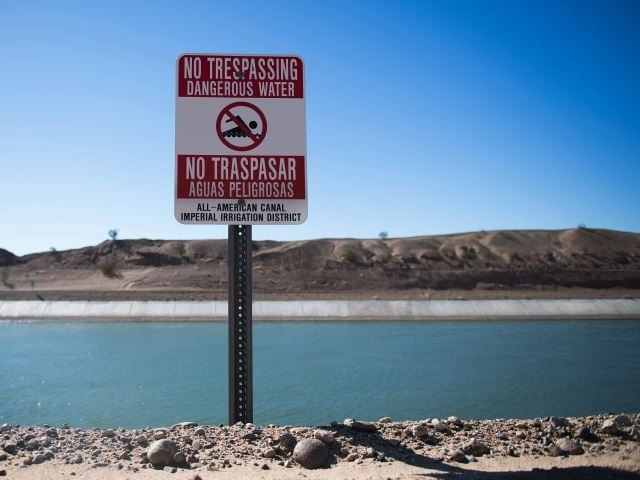 All American Canal near U.S.-California border in the El Centro Sector. (File Photo: JIM WATSON/AFP/Getty Images)