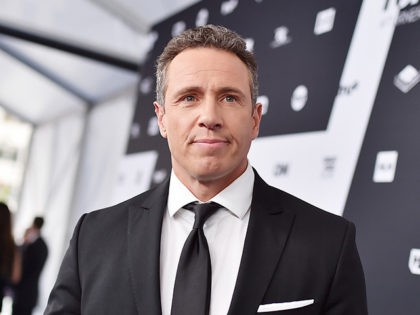 NEW YORK, NY - MAY 16: Chris Cuomo attends the Turner Upfront 2018 arrivals on the red carpet at The Theater at Madison Square Garden on May 16, 2018 in New York City. 376296 (Photo by Mike Coppola/Getty Images for Turner)