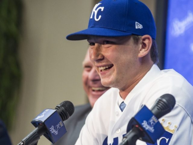 Royals prospect Brady Singer surprises parents with Christmas gift they'll never forget