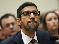 Google CEO Sundar Pichai Can't Explain Why Trump Tops Image Search for 'Idiot'