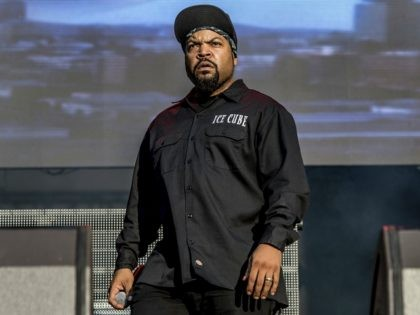 Ice Cube performs at the Austin City Limits Music Festival at Zilker Park on Saturday, Oct. 14, 2017, in Austin, Texas. (Photo by Amy Harris/Invision/AP)
