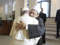 Grand Imam and Pope Francis