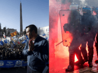 Spot the Difference: Populist Salvini Celebrated, Anti-Macron Riots