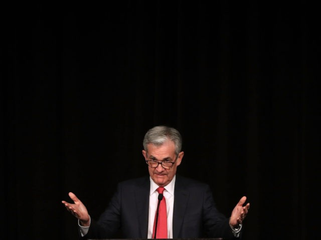 Fed Chair Jerome Powell Addresses Rural Housing Conference In Washington DC (Mark Wilson / Getty)