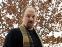 "Comedian Louis C.K., director and star of the film ""Louis C.K.: Hilarious,"" poses for a photo at the premiere of the film at the Sundance Film Festival in Park City, Utah, Tuesday, Jan. 26, 2010. (AP Photo/Chris Pizzello)"