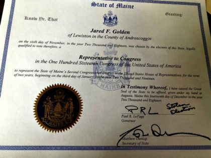 Maine Election Certification