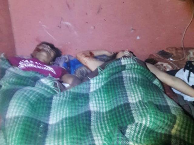 Niña de Seis Años es Testigo de la Ejecución de su Abuela en Tamaulipas Murdered-Family-in-Tamaulipas-2
