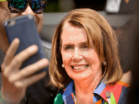 WEST HOLLYWOOD, CA - JUNE 11: Minority Leader of the United States House of Representatives Nancy Pelosi attends the LA Pride ResistMarch on June 11, 2017 in West Hollywood, California. (Photo by Chelsea Guglielmino/Getty Images)