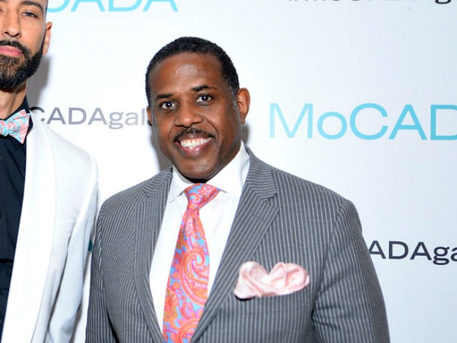 BROOKLYN, NY - MAY 19: Executive Director of MoCADA James Bartlett and New York State Senator Kevin S. Parker attend MoCADA 2nd Annual Masquerade Ball at Brooklyn Academy Of Music on May 19, 2016 in Brooklyn, New York. (Photo by Jenny Anderson/Getty Images for MoCADA)