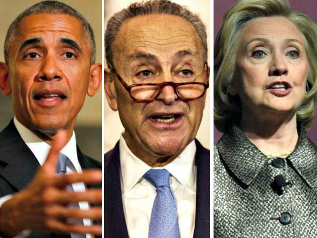 Obama, Schumer, Hillary