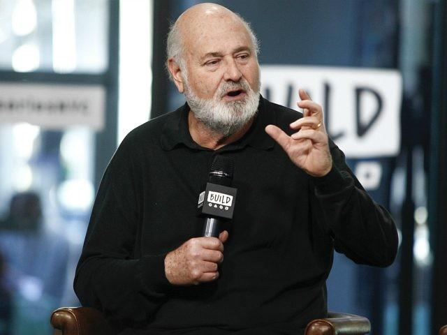 "Rob Reiner participates in the BUILD Speaker Series to discuss the film ""LBJ"" at AOL Studios on Tuesday, Oct. 17, 2017, in New York. (Photo by Andy Kropa/Invision/AP)"