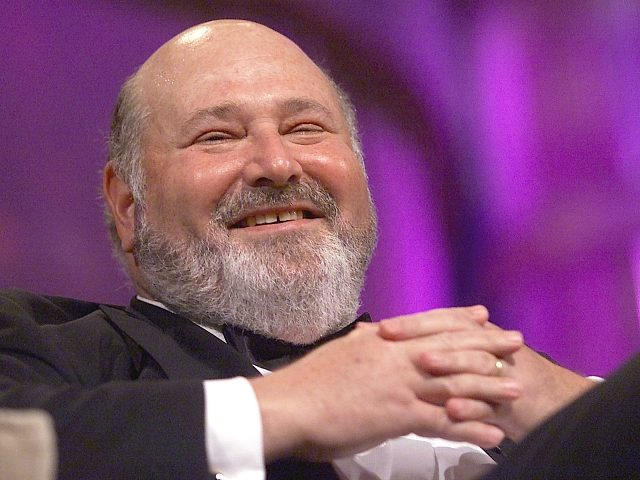 Rob Reiner has a laugh during the Comedy Central/New York Friars Club Roast held in his honor. 10/06/2000 (Photo: Scott Gries/ImageDirect)