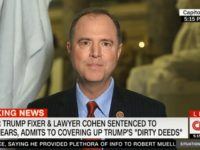 Schiff: DOJ Needs to Reevaluate Whether a Sitting President Can Be Indicted