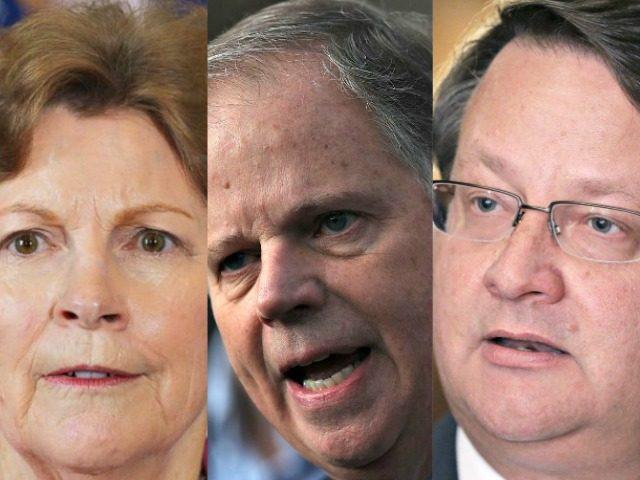 Shaheen, Jones, Peters