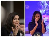 Sheryl Sandberg and Michelle Obama