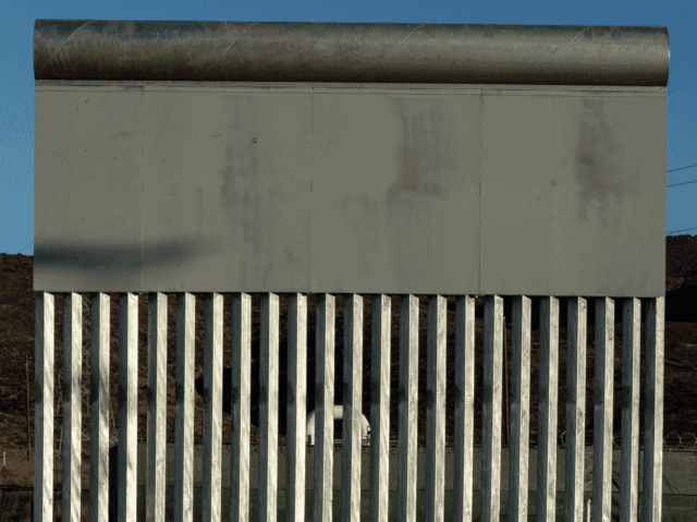Steel Slat Border Wall