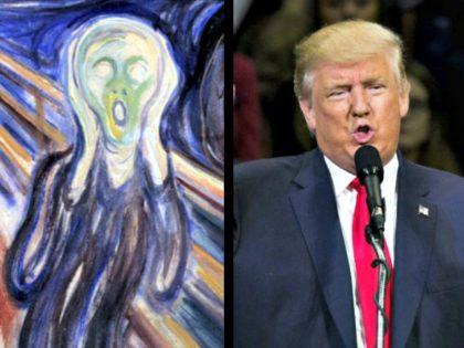 The Scream, Donald Trump