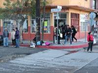 A street scene in Tijuana, Mexico.
