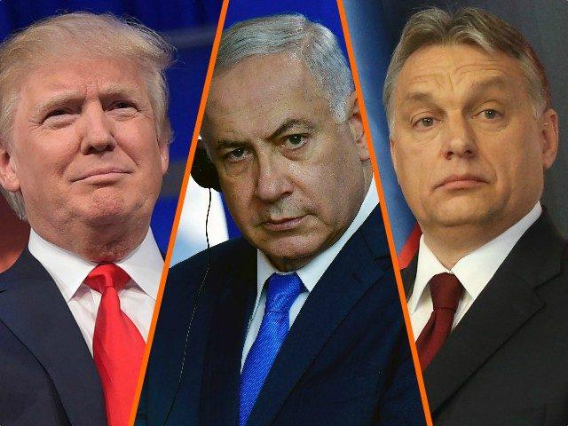 Trump, Netanyahu, Orban