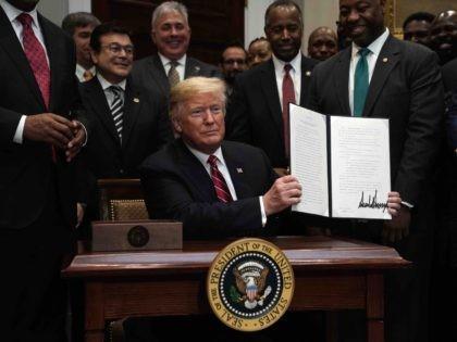 Trump Opportunity Zones (Alex Wong / Getty)