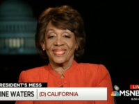 Waters: Hesitation to Impeach Trump Might Be Fear of 'Revolt'