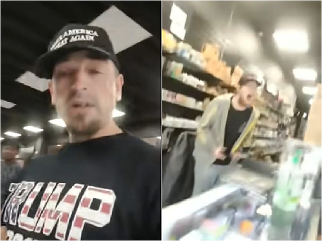 Vape Store Clerk Has Meltdown over Customer Wearing Trump Shirt