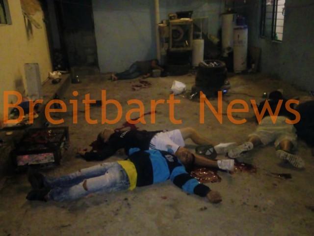 Mexican Cartel Gunmen Shoot Five at Bakery Christmas Party