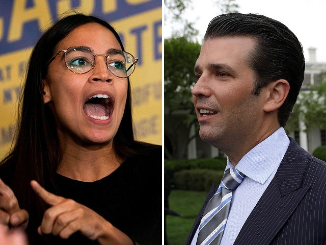 Trump Junior Attacks Ocasio-Cortez: Socialists Eat Dogs