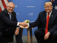 Aussie PM Scott Morrison Promises U.S. 'Another 100 Years of Friendship'