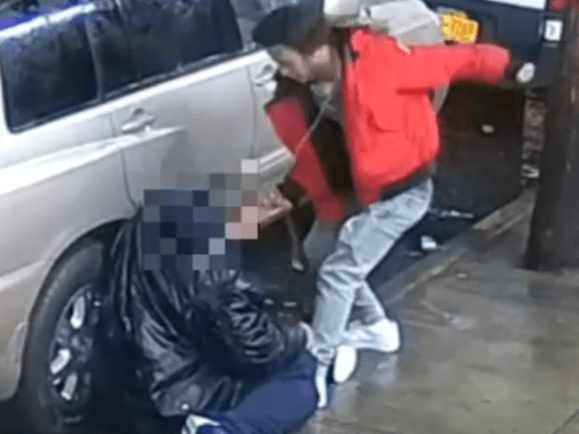 NYPD releases Video of bronx mugger punching and kicking man and taking his rings