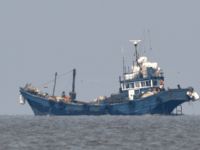 In this photo provided by the South Korean Defense Ministry, Chinese fishing boats are seen in neutral waters around Ganghwa island, South Korea, Friday, June 10, 2016. South Korean military vessels started an operation Friday to repel Chinese fishing boats illegally harvesting prized blue crabs from an area near Seoul's …