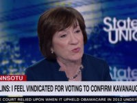 Collins: 'Nothing Wrong' with Republicans Challenging Trump in 2020