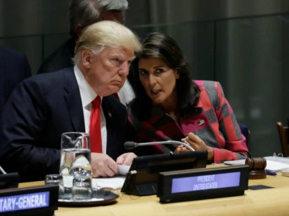 President Trump Closes Door on Nikki Haley as Potential 2020 VP