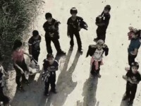 Watch: Migrant Families Cross Texas Border Seeking Asylum